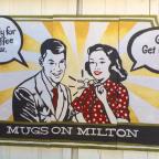 Mugs on Milton in Downtown Alpharetta, Georgia