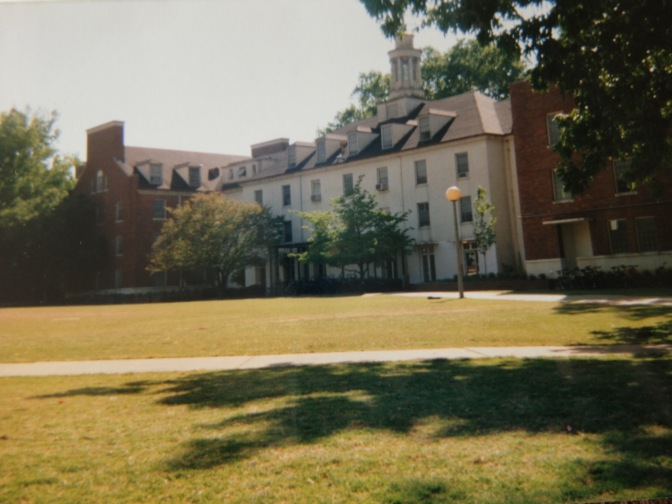 Myers Hall in 1998/99